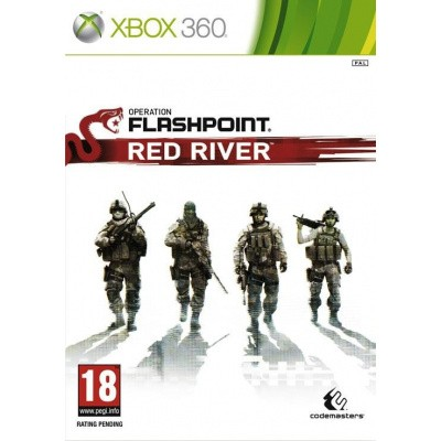 Foto van Operation Flashpoint Red River XBOX 360