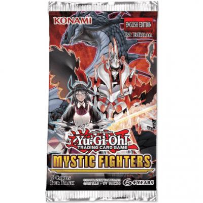 Foto van TCG Booster Pack Mystic Fighters Yu-Gi-Oh! Trading Card Game YU-GI-OH
