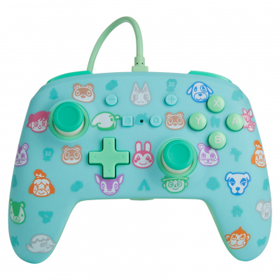 Foto van PowerA Enhanced Wired Controller - Animal Crossing: New Horizons SWITCH