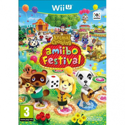Foto van Animal Crossing: Amiibo Festival (Game Only) Wii U
