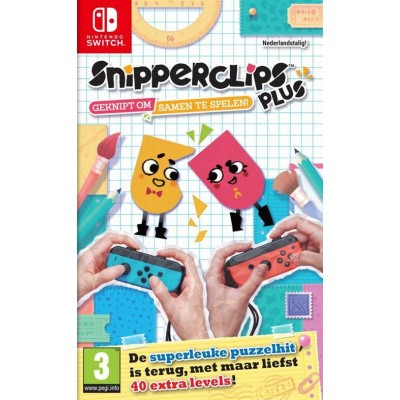Foto van Snipperclips Plus SWITCH