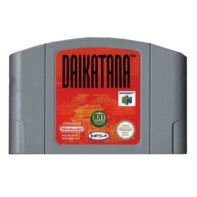 Foto van Daikatana ( Cartridge only) N64