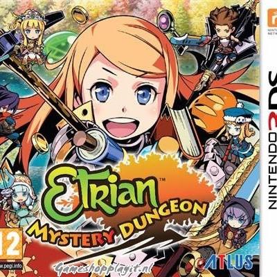 Foto van Etrian Mystery Dungeon 3DS