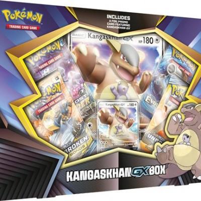 Foto van TCG Pokemon Kangaskhan-GX Box POKEMON