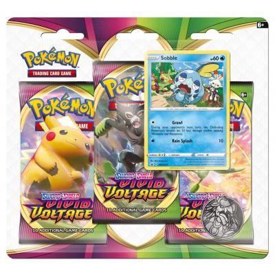 Foto van TCG Pokémon Sword & Shield Vivid Voltage Booster Packs - Sobble POKEMON