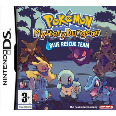 Pokemon Mystery Dungeon Blue Rescue Team NDS