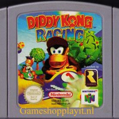 Foto van Diddy Kong Racing