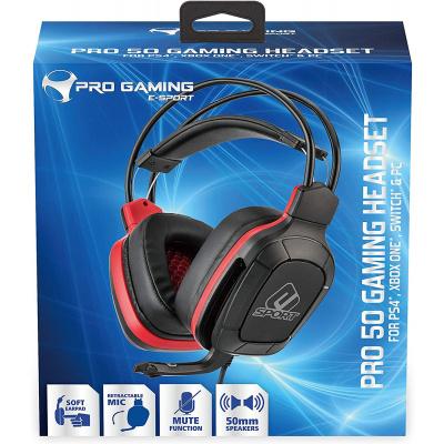 Foto van Subsonic E-Sport Pro Gaming 50 Gaming Headset PS4