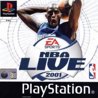 Foto van NBA Live 2001 PS1