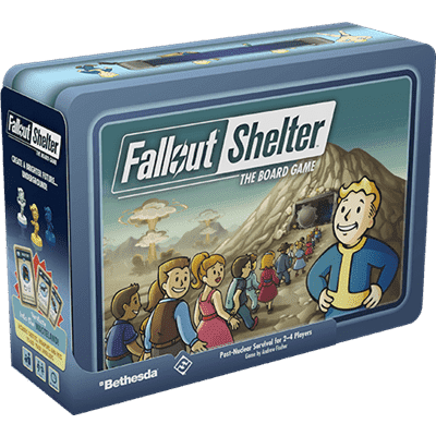 Foto van Fallout Shelter The Board Game