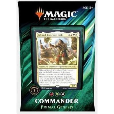 MTG Commander 2019 - Primal Genesis M:TG
