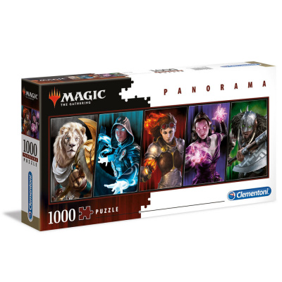Magic The Gathering Panorama Puzzle 1000pc PUZZEL