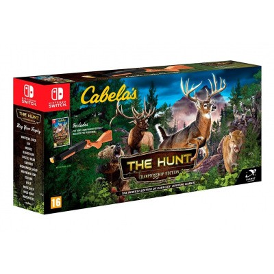 Cabela's: The Hunt Championship Edition + Hunting Rifle