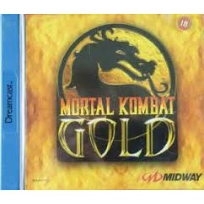 Foto van Mortal Kombat Gold SEGA DREAMCAST