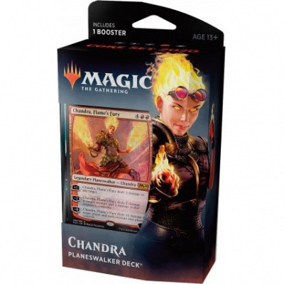 TCG Magic The Gathering Planeswalker Deck - Chandra MAGIC THE GATHERING