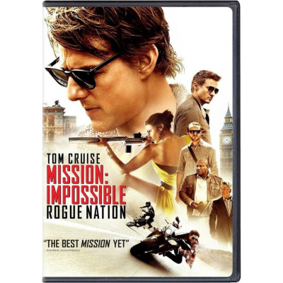 Foto van Mission: Impossible Rogue Nation DVD