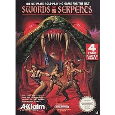 Foto van Swords And Serpents NES