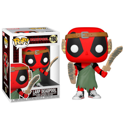 Foto van Pop! Marvel: Deadpool 30th - Larp Deadpool FUNKO