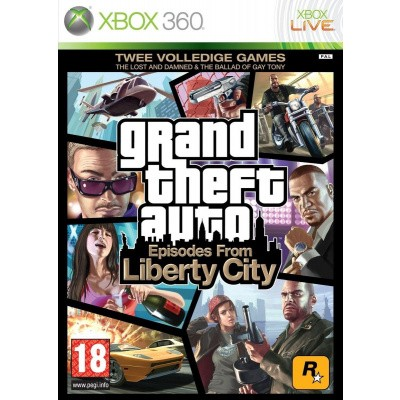 Grand Theft Auto Episodes From Liberty City (Gta) XBOX 360