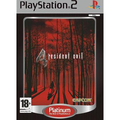Foto van Resident Evil 4 (Platinum) PS2