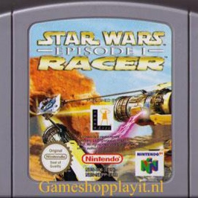 Foto van Star Wars Racer Episode 1 (Losse Cassette)