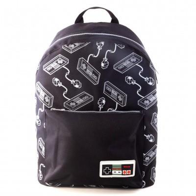Nintendo - NES Controller All-Over Print Backpack MERCHANDISE