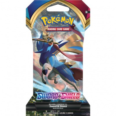 Foto van TCG Pokémon Sword & Shield Sleeved Booster Pack POKEMON