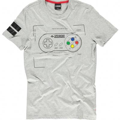 Foto van Nintendo - Super Power Men's T-shirt - L