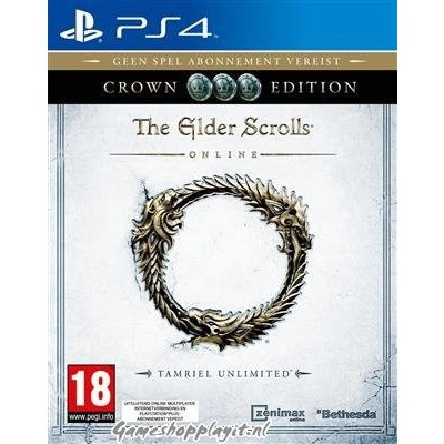 The Elder Scrolls Online Tamriel Unlimited Crown Edition PS4