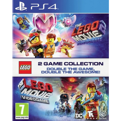 Foto van The Lego Movie 2 Videogame + The Lego Movie Double Pack PS4