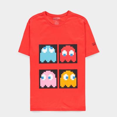 Foto van Pac-man - Men's Short Sleeved T-shirt - L