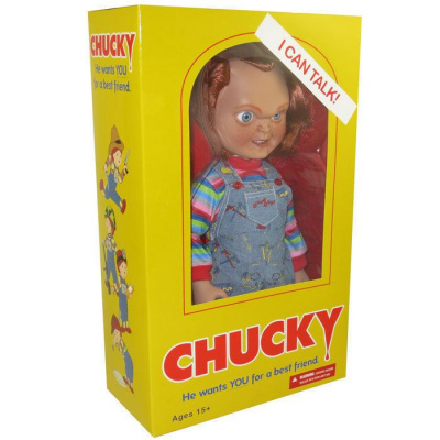 Child's Play: 15 inch Talking Sneering Chucky Doll MERCHANDISE