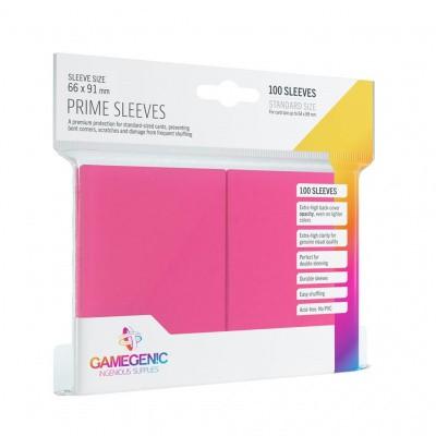 TCG Prime Sleeves 66 x 91 mm - Pink (Standard Size/100 Stuks) SLEEVES