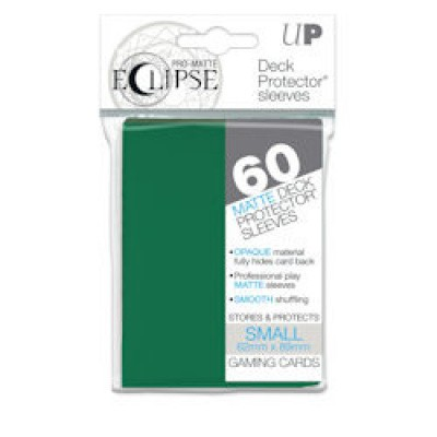 TCG Sleeves Pro-Matte Eclipse - Forest Green (60 Sleeves) (Small Size) SLEEVES