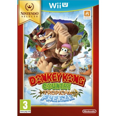 Foto van Donkey Kong Country: Tropical Freeze (Selects) Wii U