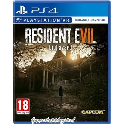 Resident Evil 7 Biohazard (Vr Compatible) PS4