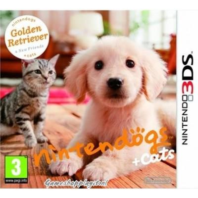 Foto van Nintendogs + Cats Golden Retriever 3DS