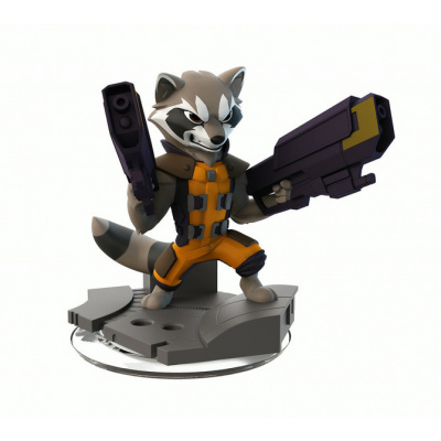Disney Infinity 2.0 Marvel - Rocket Raccoon Model #: 1000105 DISNEY INFINITY