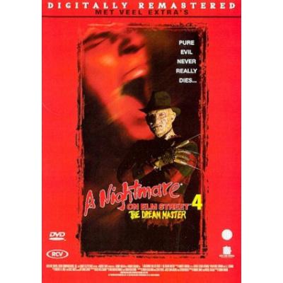 Foto van A Nightmare On Elm Street 4 Te Dream Master DVD