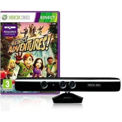 Kinect + Kinect Adventures! XBOX 360