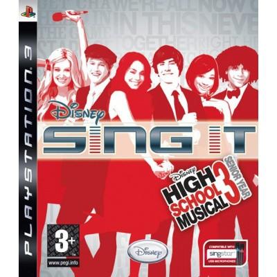 Sing It High School Musical 3 PS3