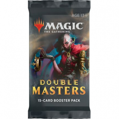 Foto van TCG Magic The Gathering Double Masters Booster Pack MAGIC THE GATHERING