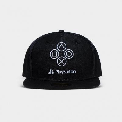 Sony PlayStation - Denim Symbols Snapback MERCHANDISE