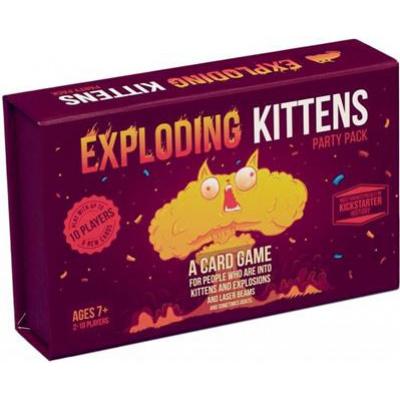 Exploding Kittens Party Pack BORDSPELLEN