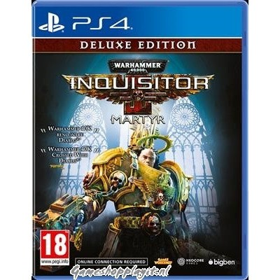 Warhammer 40.000: Inquisitor Martyr Deluxe Edition PS4