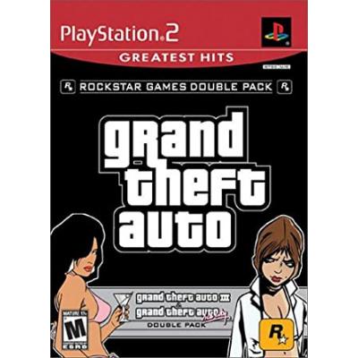 Foto van Double Pack Grand Theft Auto (Gta) III + Vice City Stories PS2