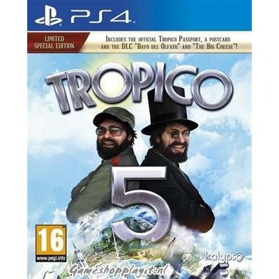 Tropico 5 Limited Special Edition PS4