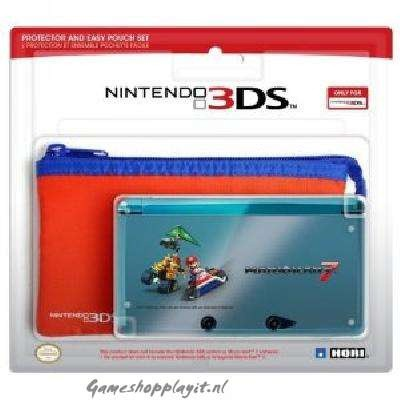 Hori Mario Kart 7 Prot+Pouch 3DS