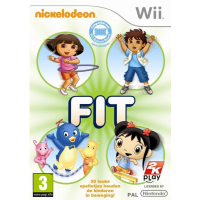 Foto van Nickelodeon Fit WII