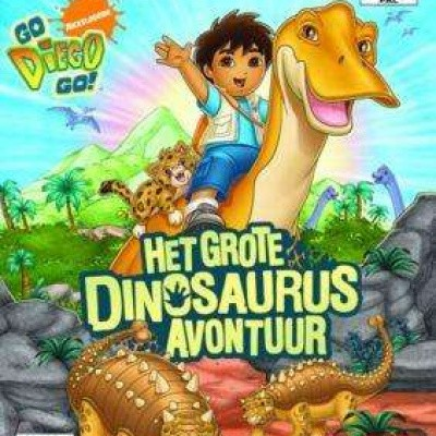 Foto van Go Diego Go! Het Grote Dinosaurus Avontuur PS2